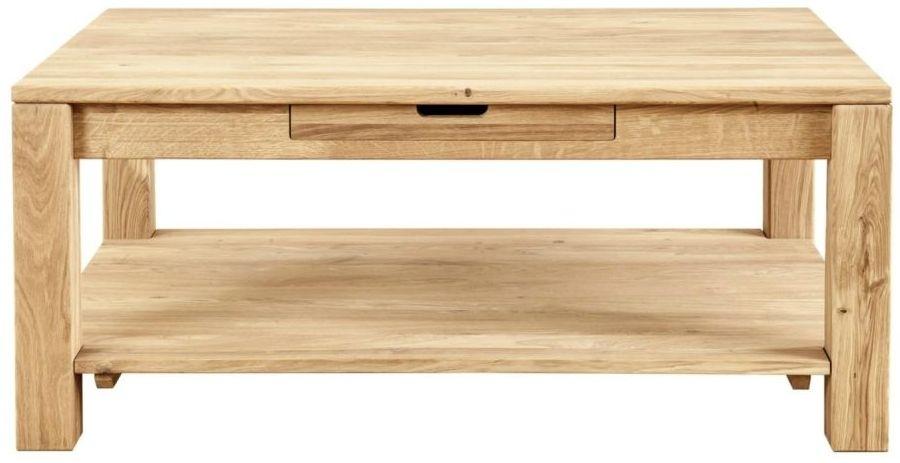Clemence Richard Lyon Oak 120cm Coffee Table