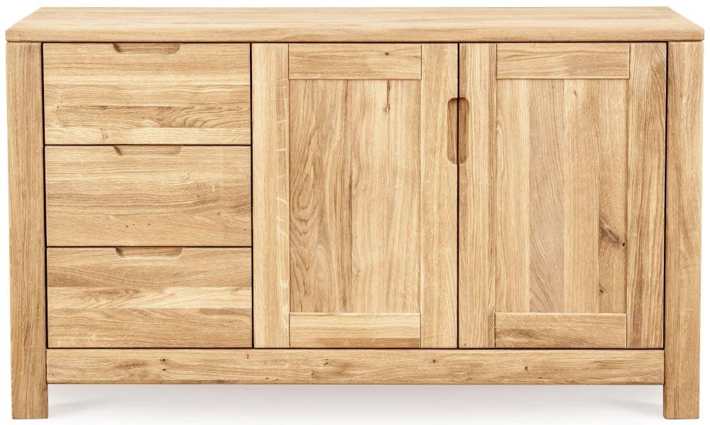 Clemence Richard Lyon Oak 2 Door 3 Drawer Sideboard