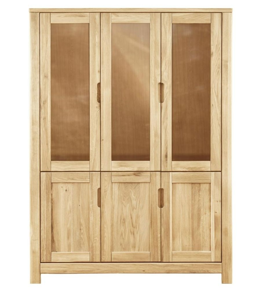 Clemence Richard Lyon Oak 3 Door Cupboard