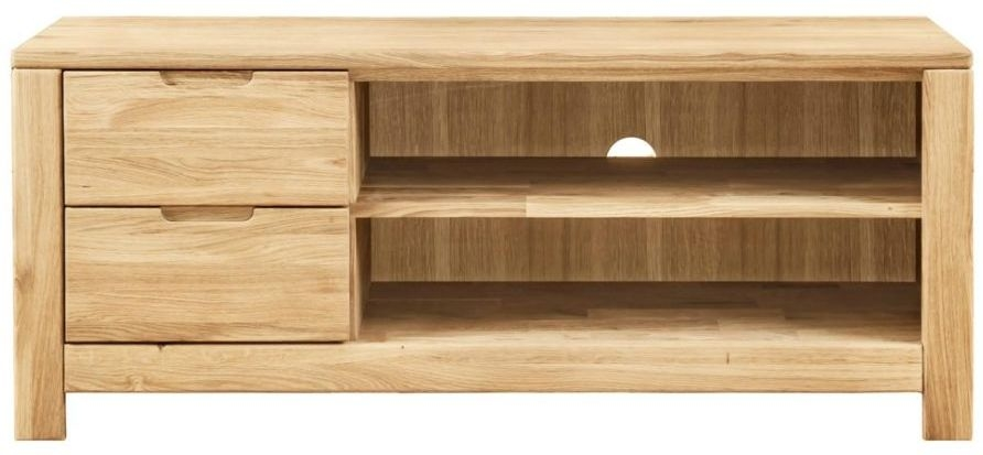 buy clemence richard lyon oak tv unit online cfs uk. Black Bedroom Furniture Sets. Home Design Ideas