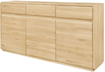 Clemence Richard Marseille Oak Sideboard