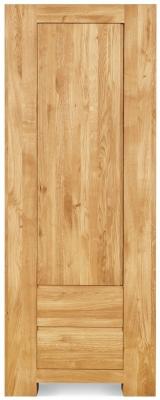 Clemence Richard Massive Oak Tall Display Cabinet
