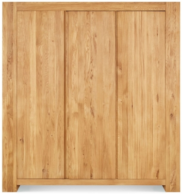 Clemence Richard Massive Oak 3 Door Wardrobe