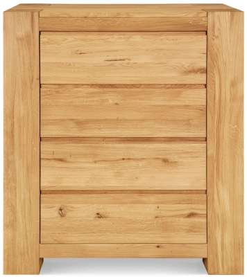Clemence Richard Massive Oak 4 Drawer Chest
