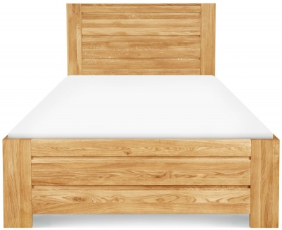 Clemence Richard Massive Oak Bed