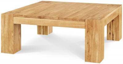 Clemence Richard Massive Oak Large Coffee Table