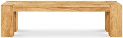 Clemence Richard Massive Oak 144cm Dining Bench