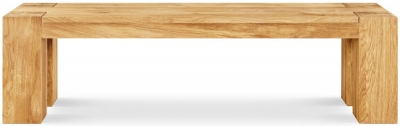 Clemence Richard Massive Oak 184cm Dining Bench