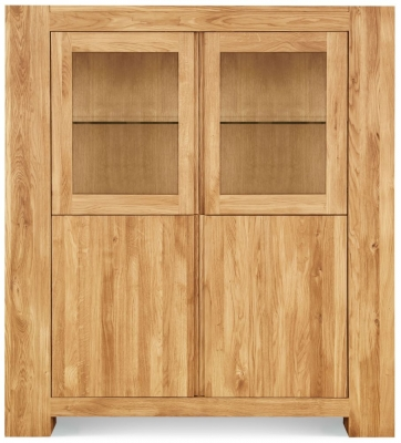 Clemence Richard Massive Oak Display Cabinet Type3