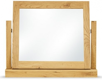 Clemence Richard Massive Oak Gallery Mirror