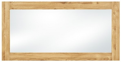 Clemence Richard Massive Oak Mirror