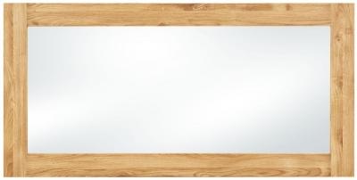 Clemence Richard Massive Oak Rectangular Mirror - 150cm x 75cm