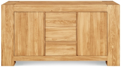 Clemence Richard Massive Oak Sideboard