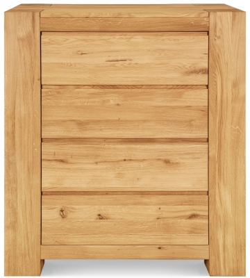 Clemence Richard Massive Oak Tall 4 Chest of Drawer