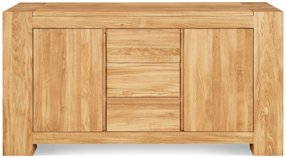 Clemence Richard Massive Oak Small Sideboard