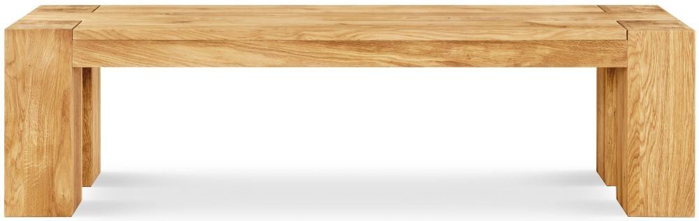 Clemence Richard Massive Oak 164cm Dining Bench