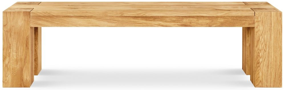 Clemence Richard Massive Oak Dining Bench Type40