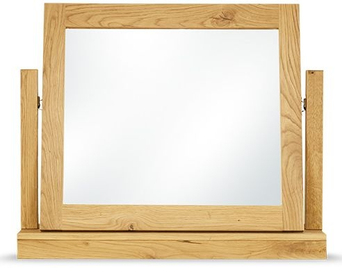 Clemence Richard Massive Oak Gallery Mirror