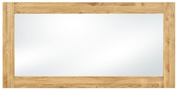 Clemence Richard Massive Oak Rectangular Mirror
