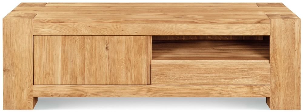 Clemence Richard Massive Oak TV Unit Type24