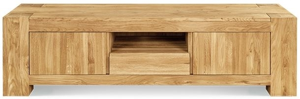 Clemence Richard Massive Oak TV Unit Type6