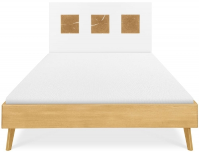 Clemence Richard Modena Oak Bed - 228B