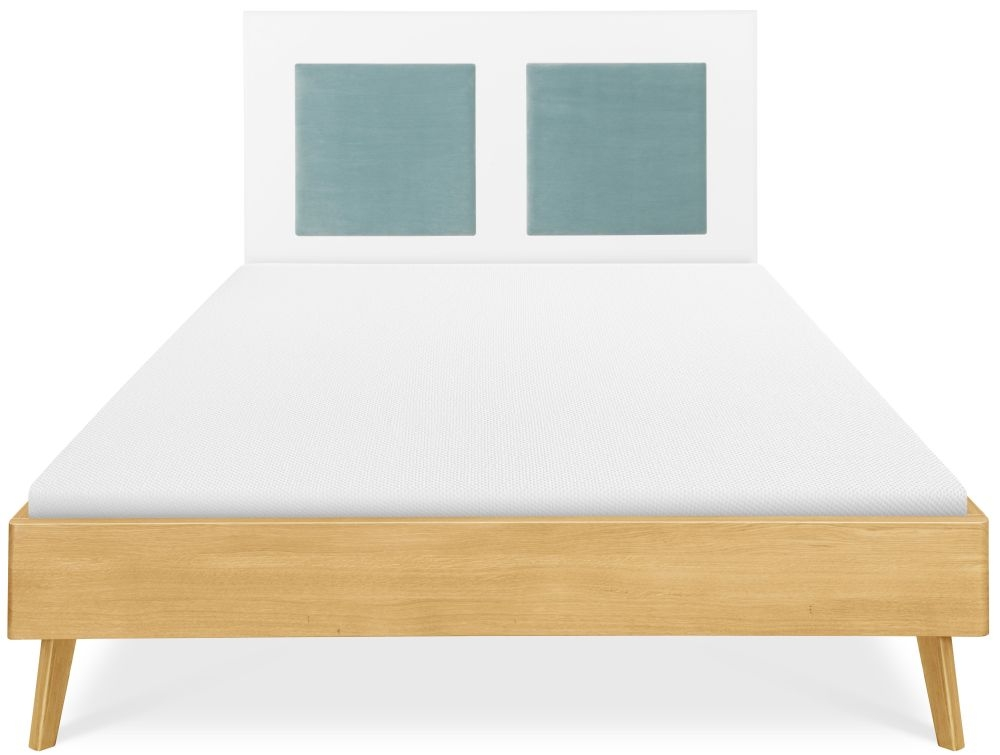 Clemence Richard Modena Solid Oak Bed - 228A