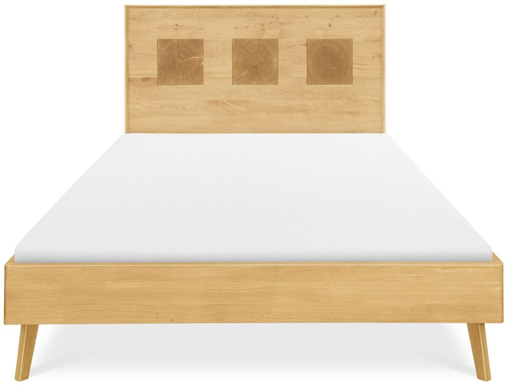 Clemence Richard Modena Solid Oak Bed - 228C