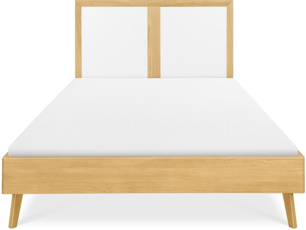 Clemence Richard Modena Solid Oak Bed - 228D