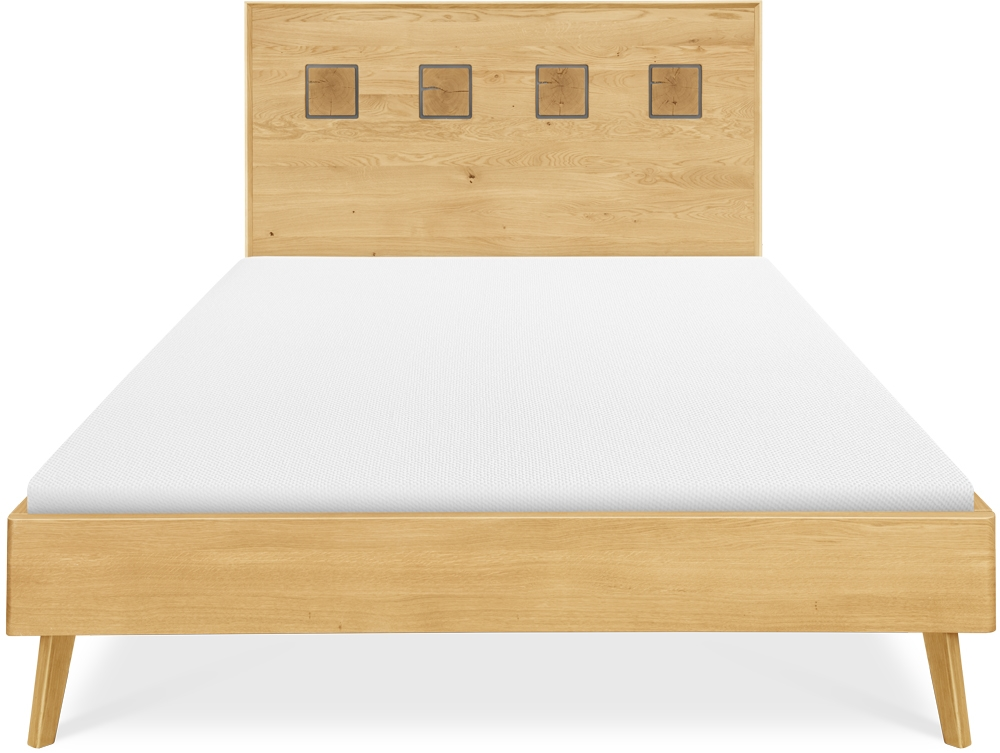 Clemence Richard Modena Solid Oak Bed - 228F