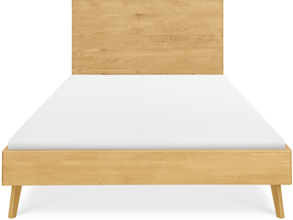Clemence Richard Modena Solid Oak Bed - 228H