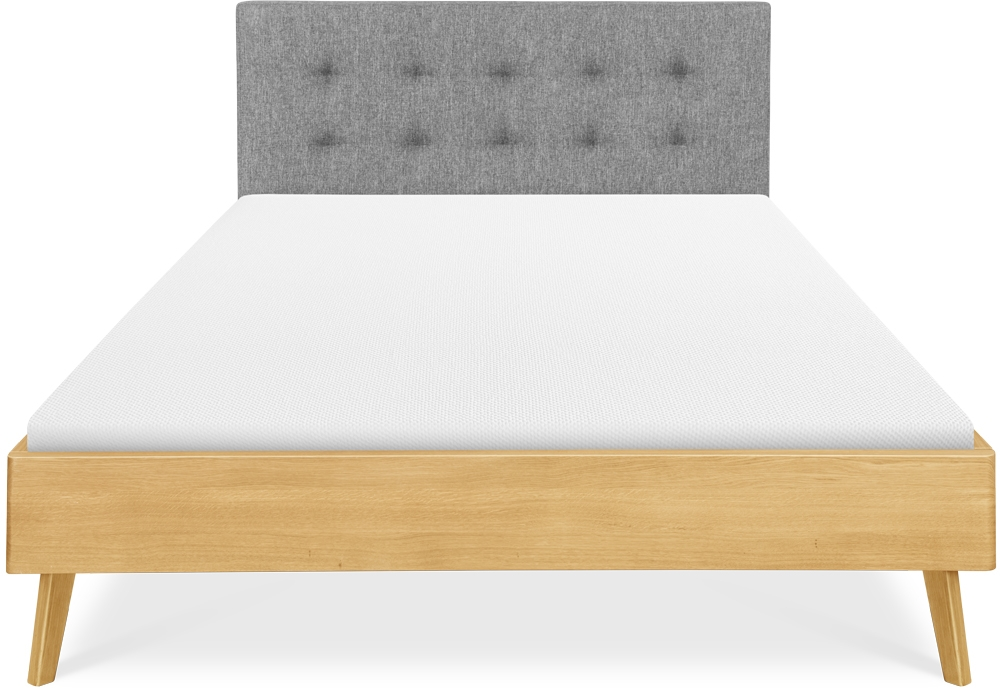 Clemence Richard Modena Solid Oak Bed - 228J