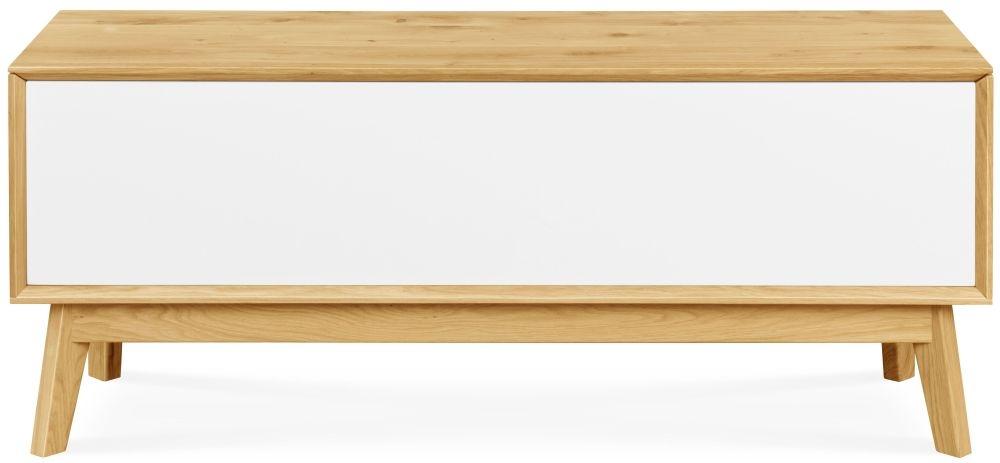 Clemence Richard Modena Oak Blanket Box
