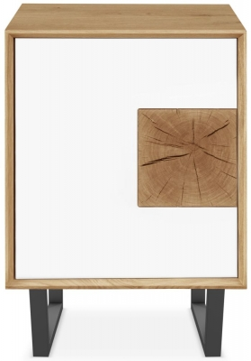 Clemence Richard Modena Oak 1 Door Cabinet