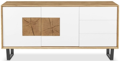Clemence Richard Modena Oak 2 Door Large Sideboard