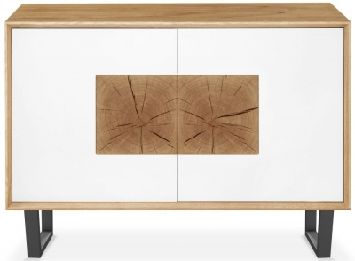 Clemence Richard Modena Oak 2 Door Sideboard