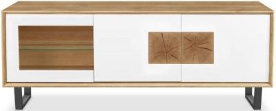Clemence Richard Modena Oak 3 Door Large TV Unit