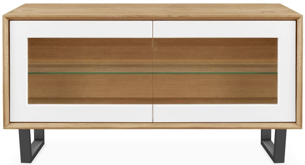 Clemence Richard Modena Oak 2 Door TV Unit