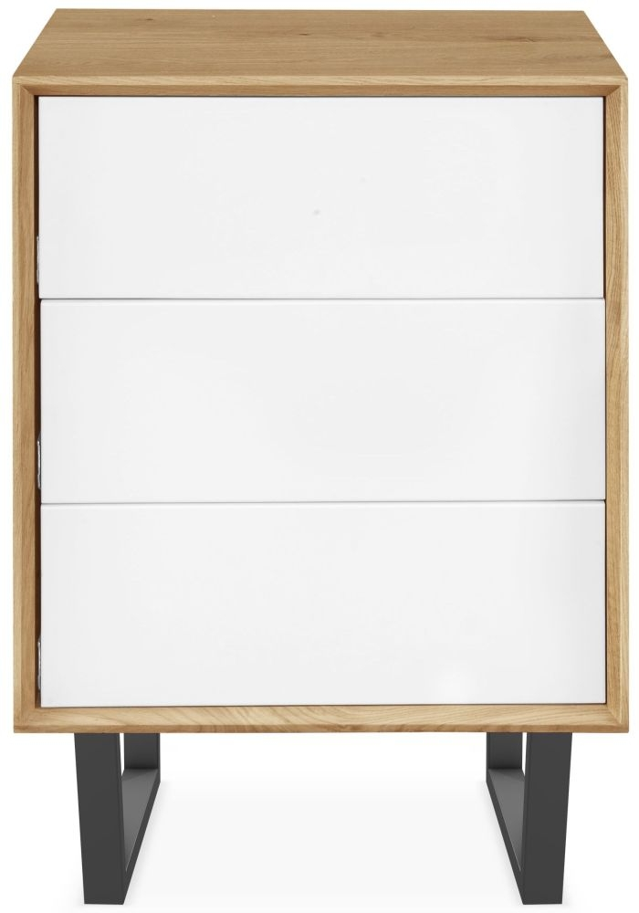Clemence Richard Modena Oak 3 Drawer Cabinet