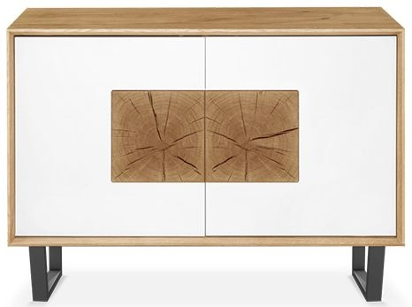Clemence Richard Modena Oak Small 2 Door Sideboard