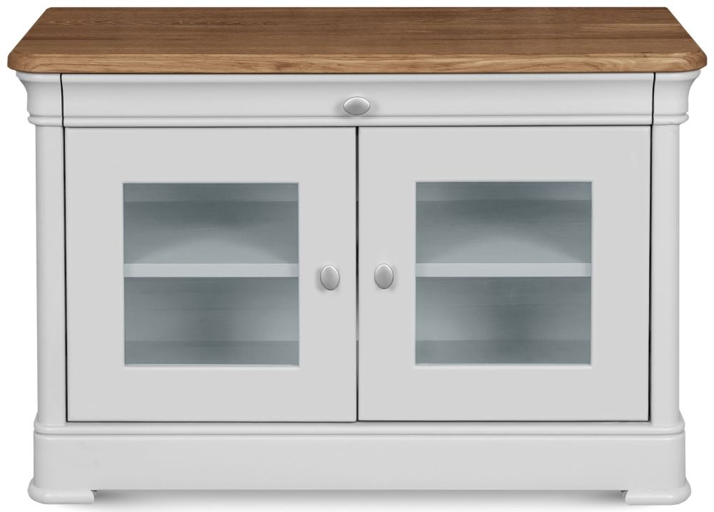 Clemence Richard Moreno Painted 2 Door TV Cabinet