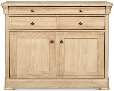 Clemence Richard Moreno Oak 2 Door 3 Drawer Medium Sideboard
