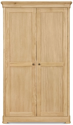 Clemence Richard Moreno Oak 2 Door Wardrobe