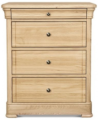 Clemence Richard Moreno Oak 3 Chest of Drawer