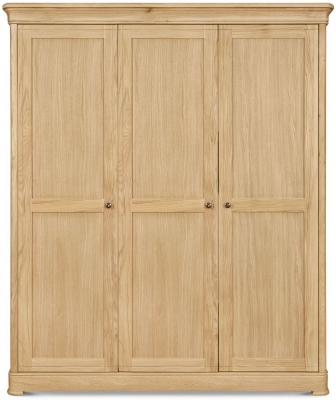 Clemence Richard Moreno Oak 3 Door Wardrobe