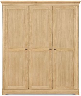 Clemence Richard Moreno Oak 3 Door Wardrobe