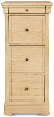 Clemence Richard Moreno Oak Tall Filing Cabinet