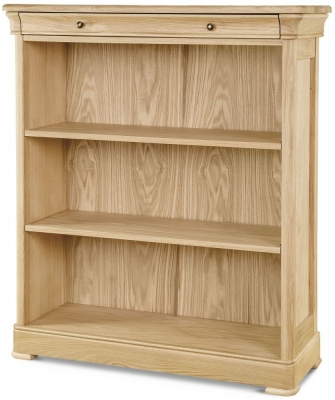 Clemence Richard Moreno Oak Large Bookcase