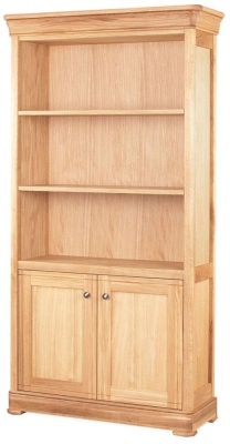 Clemence Richard Moreno Oak Bookcase