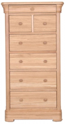 Clemence Richard Moreno Oak Tall Chest of Drawer